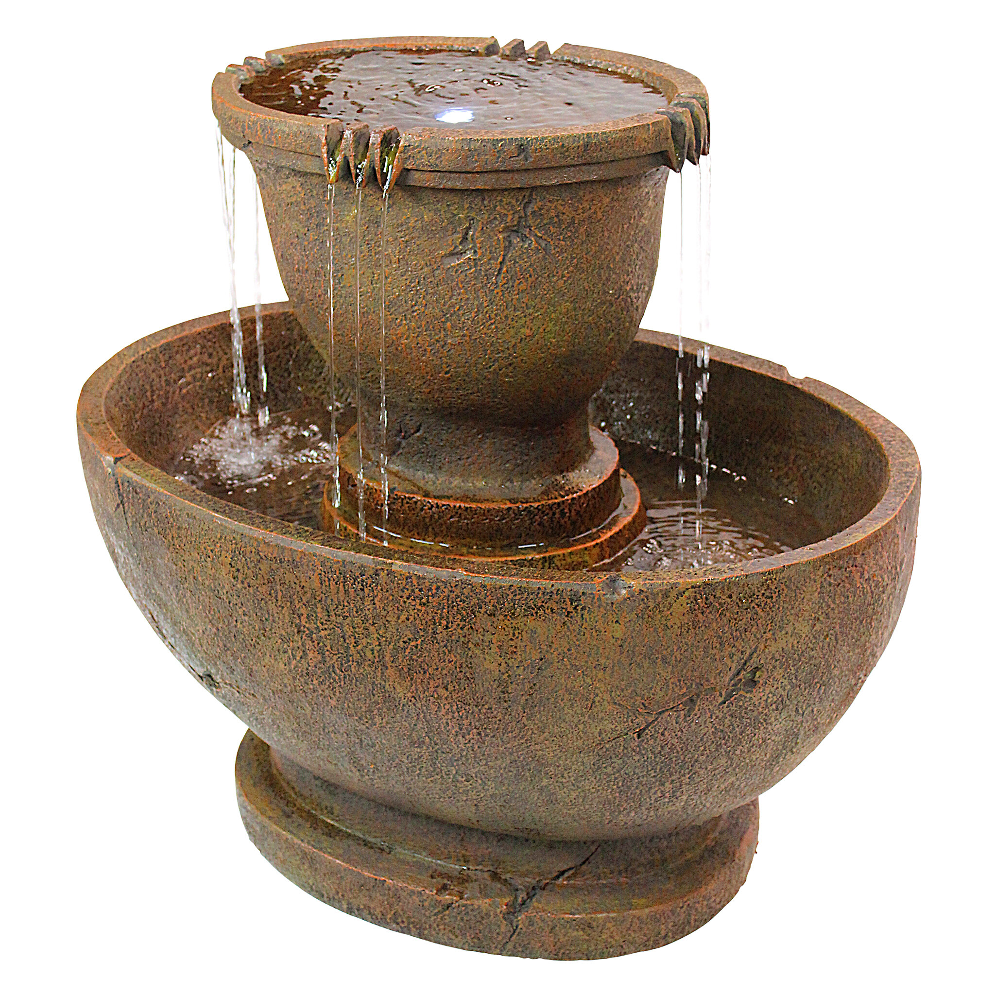 fountain overstock for garden free product home outdoor fountains today level sale shipping peaktop zen