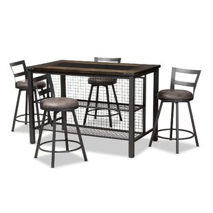 Karina 5 Piece Pub Table Set