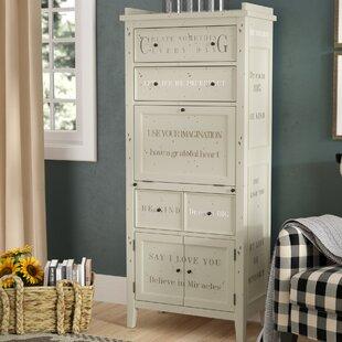 3 Basket Drawer Bathroom Storage Unit Cabinet White accent chests & cabinets | birch lane