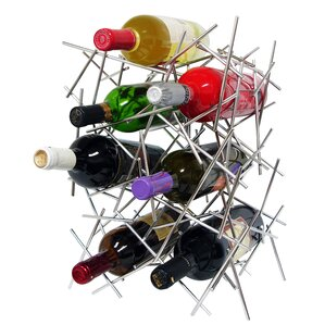 7 Bottle Tabletop Wine Rack by Epicureanist