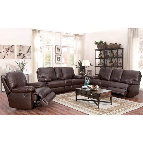 Costco Living Room Sets: Red Barrel Studio Koehn Leather Reclining Configurable