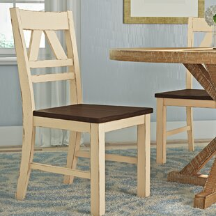 Fred Solid Wood Dining Chair (Set of 2)
