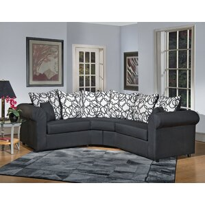 Lila Sectional  sc 1 st  Wayfair : sectional curved sofa - Sectionals, Sofas & Couches