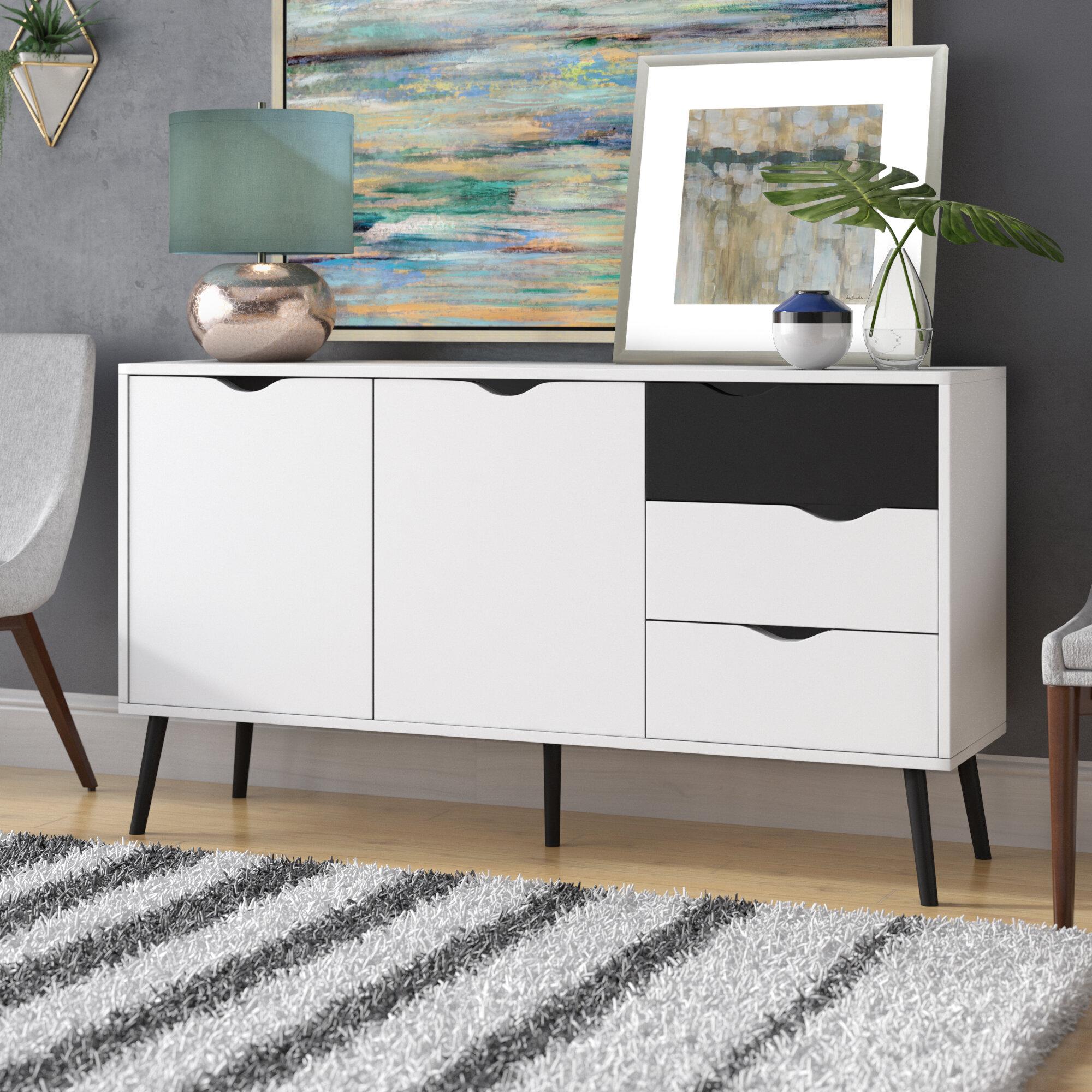 mateer 5 drawer sideboard reviews joss main