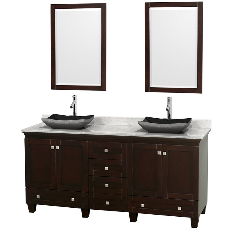 "Bathroom Vanity Base wyndham collection acclaim 72"" double bathroom vanity base"
