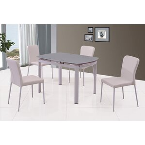 Tauny 5 Piece Dining Set by Orren Ellis