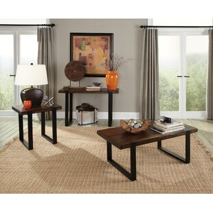 Micaela 3 Piece Coffee Table Set  sc 1 st  Wayfair & Mahogany Coffee Table Sets You\u0027ll Love | Wayfair
