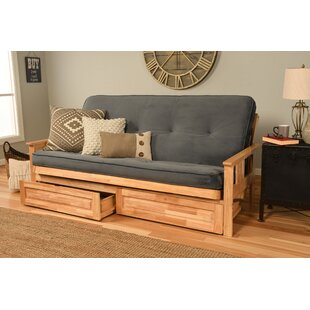 Couch With Drawers Wayfair