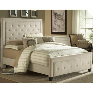 Bettyann California king Upholstered Panel Bed by Darby Home Co