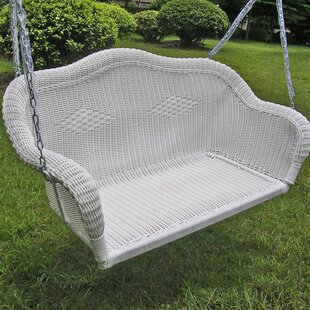 Soucy Wicker Porch Swing