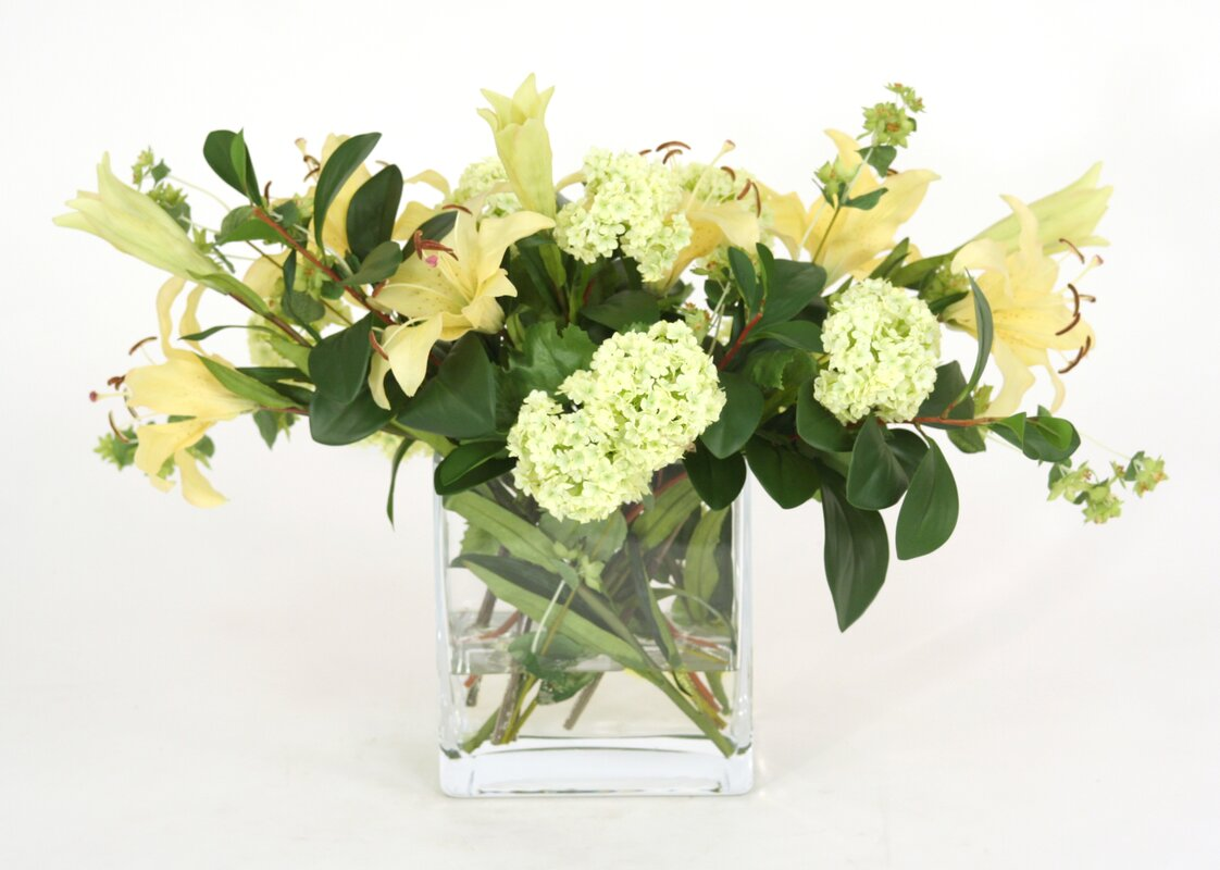 Distinctive designs waterlook silk arrangement in rectangular vase waterlook silk arrangement in rectangular vase reviewsmspy