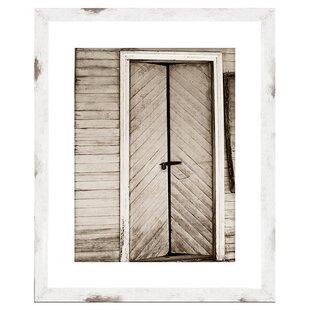 Awesome Barn Door Framed Giclee Print