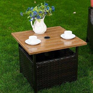 Feldt Solid Wood Side Table