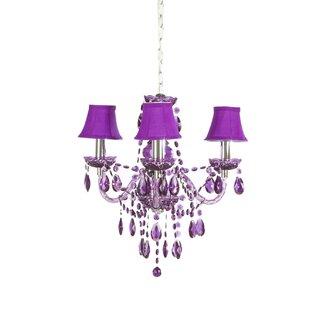 Purple chandeliers wayfair save to idea board mozeypictures Gallery