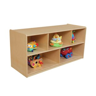 Bon Extra Deep 5 Compartment Shelving Unit With Casters