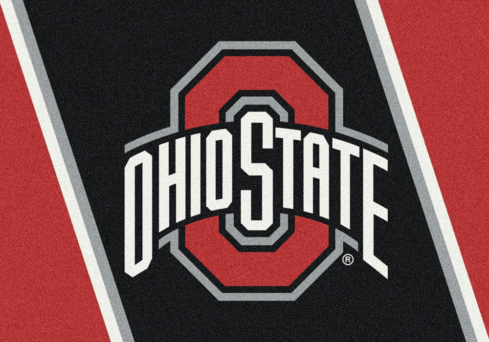 Collegiate Ohio State University Buckeyes Mat