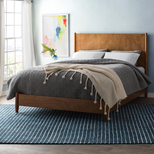 Upholstered Bedroom Sets Bedroom Window Bench Bedroom Hanging Cabinet Main Bedroom Colours Ideas: Parocela Panel Bed & Reviews