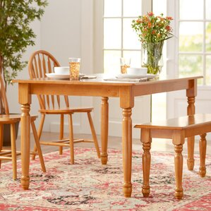 Shelby Dining Table by Alcott Hill