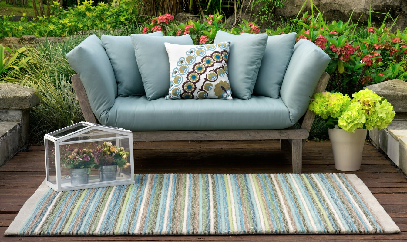 Beachcrest Home Englewood Loveseat with Cushions & Reviews   Wayfair