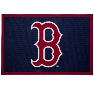 Mlb Boston Red Sox Blue Area Rug