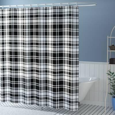 Elmwood British Tartan Pattern Shower Curtain