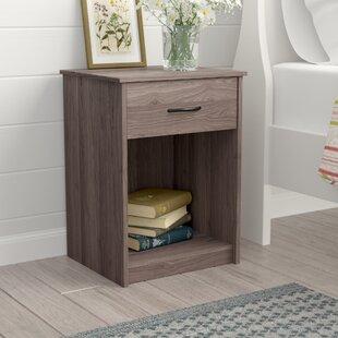 narrow nightstand with drawers   wayfair Narrow Nightstand