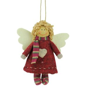 Hannah the Holiday Angel Decorative Hanging Christmas Ornament