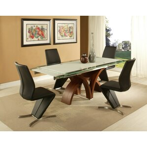 Fountain Valley 5 Piece Dining Set by Impacterra
