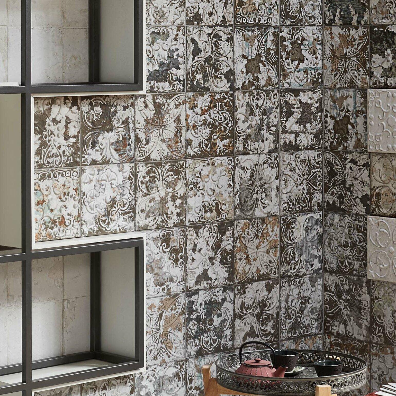 Elitetile Aevit 8 X Ceramic Field Tile In Dark Ornato Reviews Wayfair