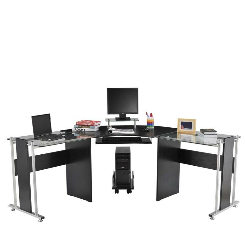 latitude run freeport modern l shape computer desk reviews wayfair rh wayfair com l shaped computer desks ikea l shaped computer desks with hutch