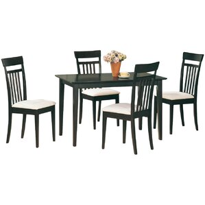 West Hollywood 5 Piece Dining Set by Wildon Home ?