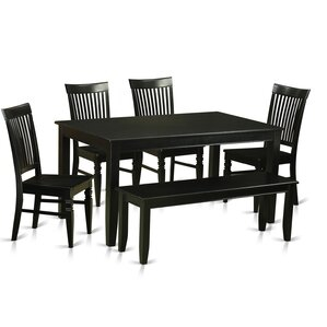 Dudley 6 Piece Dining Set by East West Furniture