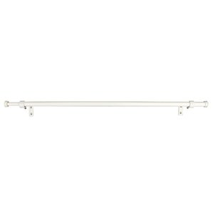 curtain rod with sports finial