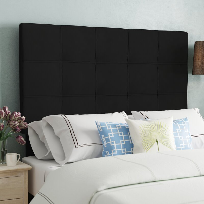Charlton Home Fitzgibbon Bedford Tufted Upholstered Panel Headboard Magnificent Bedford Bedroom Furniture Creative Plans