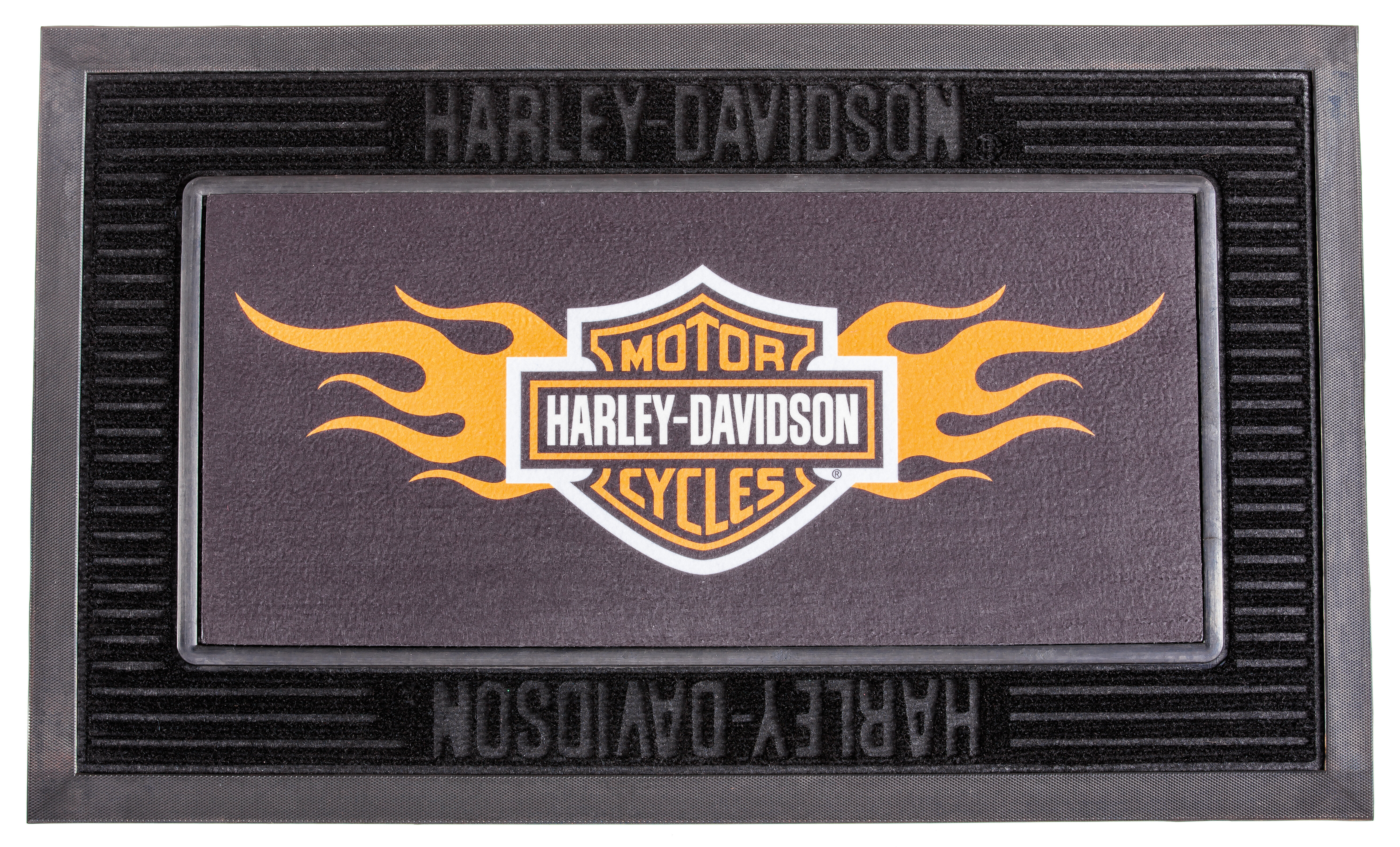 Surprising Harley Davidson 30 In X 18 In Outdoor Door Mat Interior Design Ideas Clesiryabchikinfo