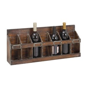 ramona 7 bottle wine rack - Wine Rack Table