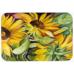 Bon Sunflowers Kitchen/Bath Mat
