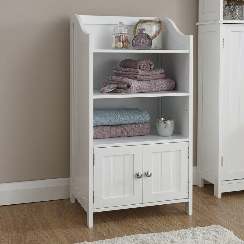 Wayfair Basics Hampton 86x41cm Free Standing Cabinet ...