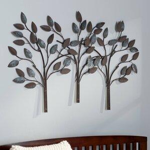 metal wall art - wall décor | wayfair