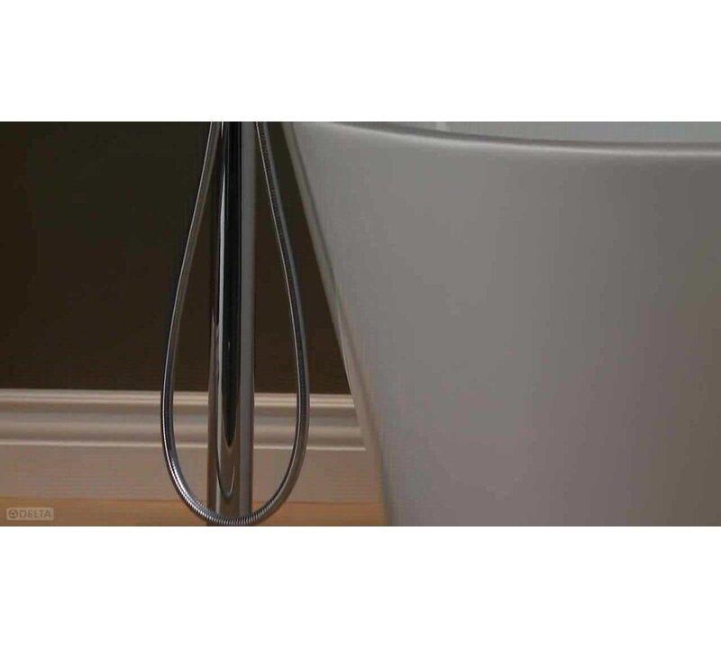 Delta Trinsic 174 Bathroom Single Handle Floor Mount Tub