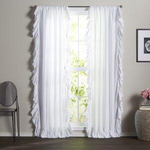 Eton Solid Room Darkening Rod Pocket Curtain Panels (Set of 2)