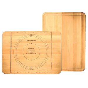 Pastry Maker Board with Reverse Groove