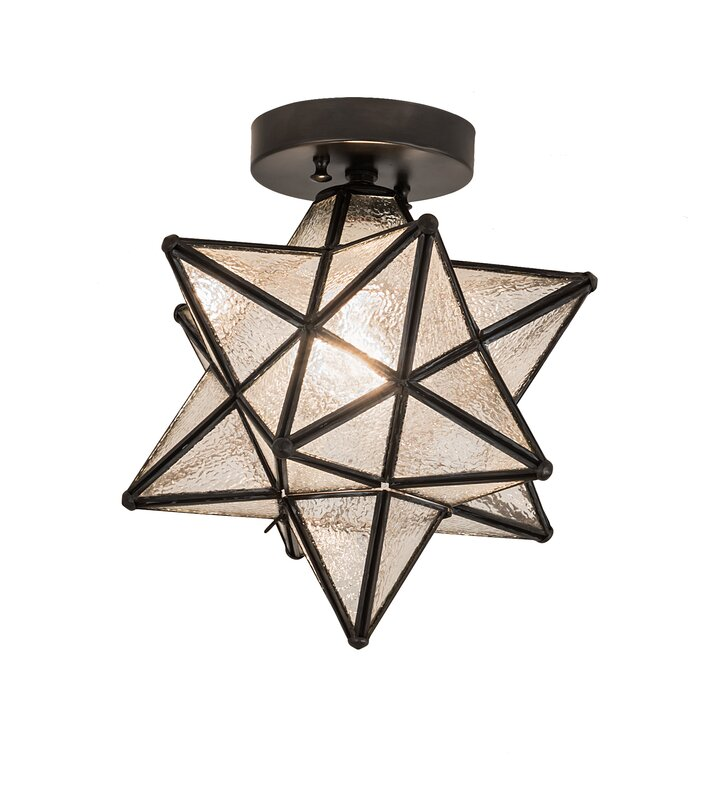 Moravian Star 1-Light Flush Mount & Reviews | AllModern