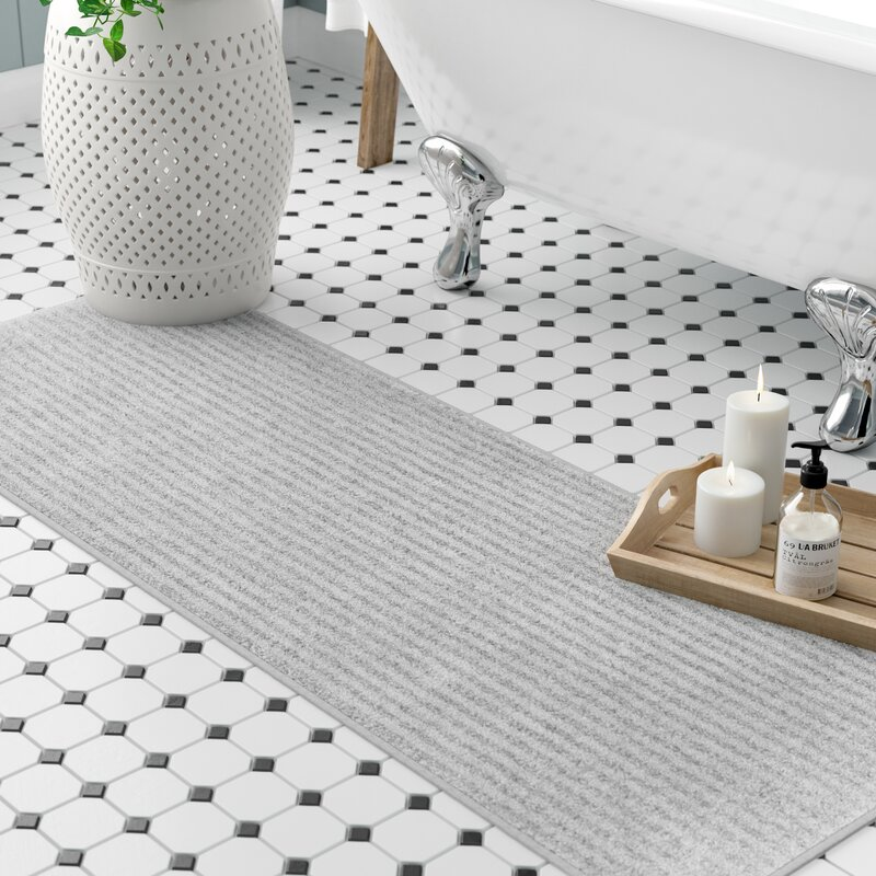 Three Posts Lucille Bath Rug Amp Reviews Wayfair