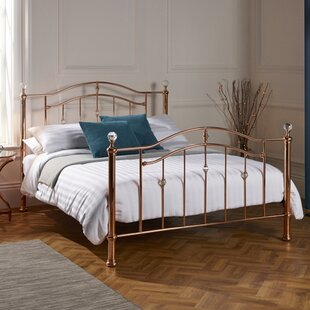Dudley Crystal Finials Bed Frame