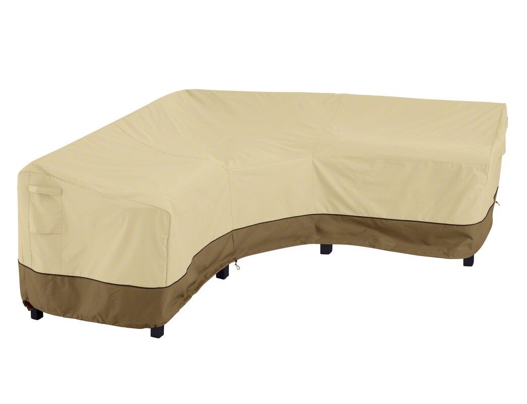 V Shape Patio Sofa Cover