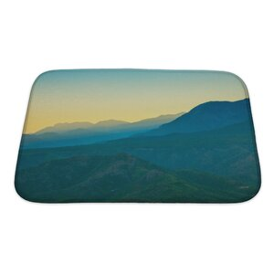 Landscapes Landscape in the Mountains Turkey Bath Rug