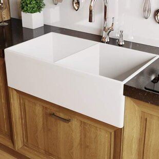 Fireclay Kitchen Sinks Youu0027ll Love | Wayfair