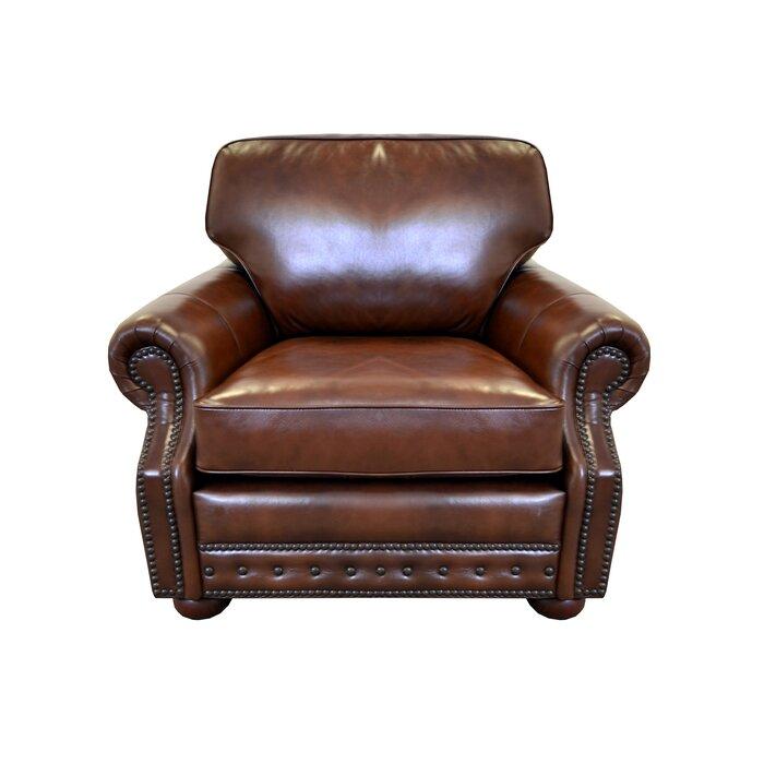 Miraculous Middleton Genuine Top Grain Leather Club Chair Spiritservingveterans Wood Chair Design Ideas Spiritservingveteransorg