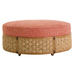 Twin Palms St Barts Ottoman by Tommy Bahama Home